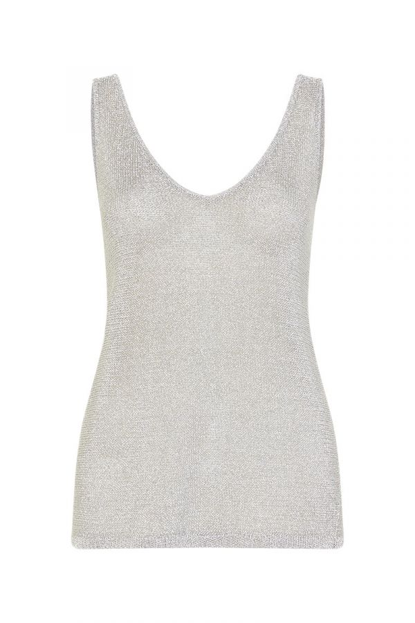 SHIMMER AND SHINE KNIT TANK