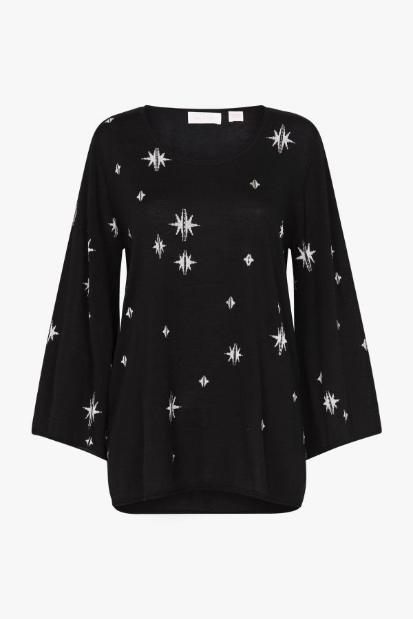 STARRY SKIES KNIT TOP