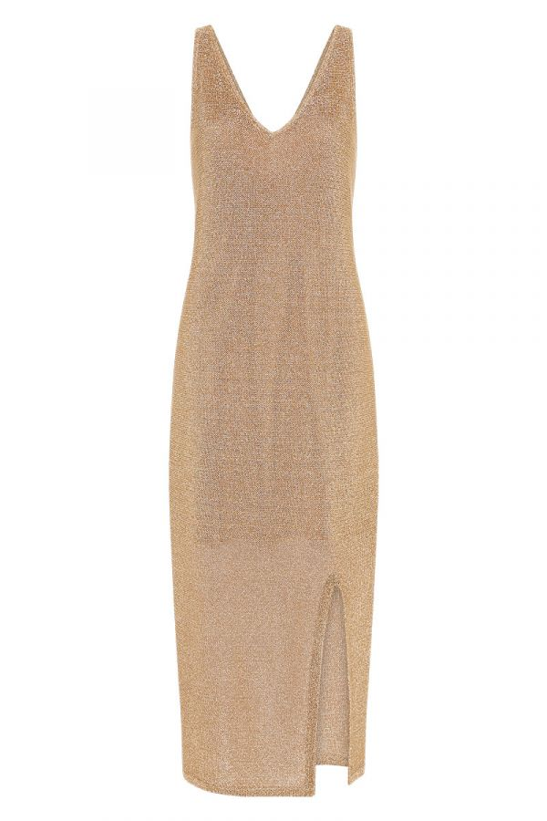 SHIMMER AND SHINE KNIT DRESS